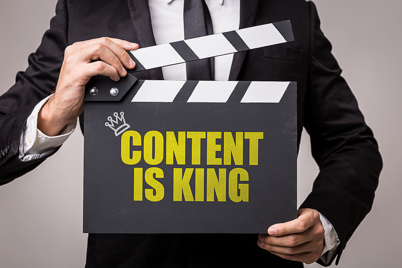 Content is King image for Video Production Company